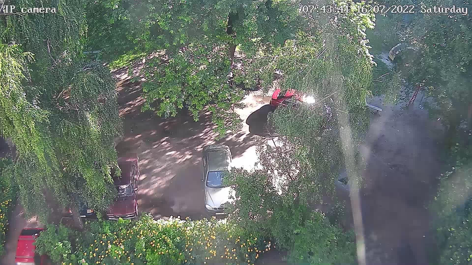 Webcam Chernihiv › East: Детская площадка