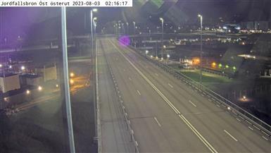 Webcam Skårdal: Jordfallsbron Österut