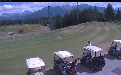 Crans-Montana › Süd: Golf Club Crans-sur-Sierre