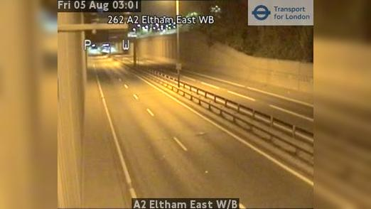Webcam Bexley: A2 Eltham East W/B