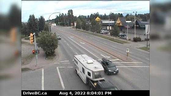 Webkamera Smithers › South: Hwy 16 in − at Main Street, look