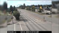 Smithers › South: Hwy  in - at Main Street, looking south