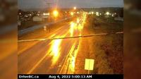 Fort St. James › North: Hwy  at Hill St/Greenview in - looking north - Dagtid