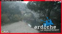 Labastide-de-Virac: L'oustaou sous les oliviers - Vallon-Pont-d'Arc - Ard�che - Overdag