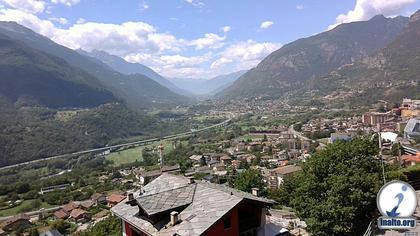 Saint-Vincent › West: Aosta