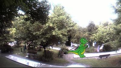 Daylight webcam view from Gößweinstein: Minigolfanlage
