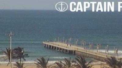 Vista de cámara web de luz diurna desde Durban: Beachfront