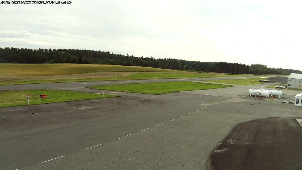 Webcam Rakkestad: Airport (southeast)
