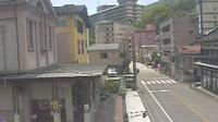 Last daylight view from Shiobara machi: 塩原もの語り館