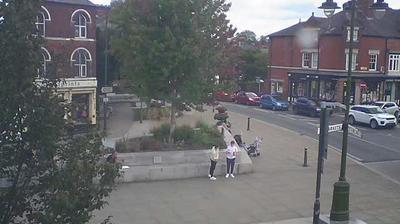 Daylight webcam view from Leek: Town Ex Roundabout