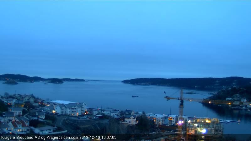 Webkamera Kragerø: Kragerøfjorden