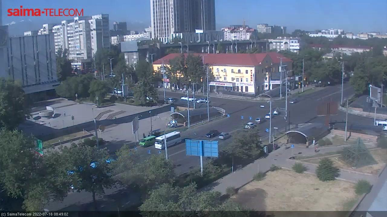 Webkamera Bishkek: Чуй-Б.Баатыра