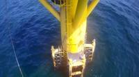 Dranske: FINO - Offshore Ostsee - Overdag