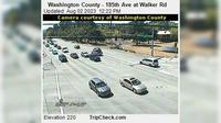 Hillsboro: Washington County - th Ave at Walker Rd - El día