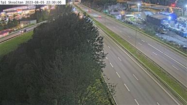 Webkamera Nacka: Trafikplats Skvaltan