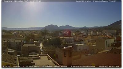 Webcam Orosei › South