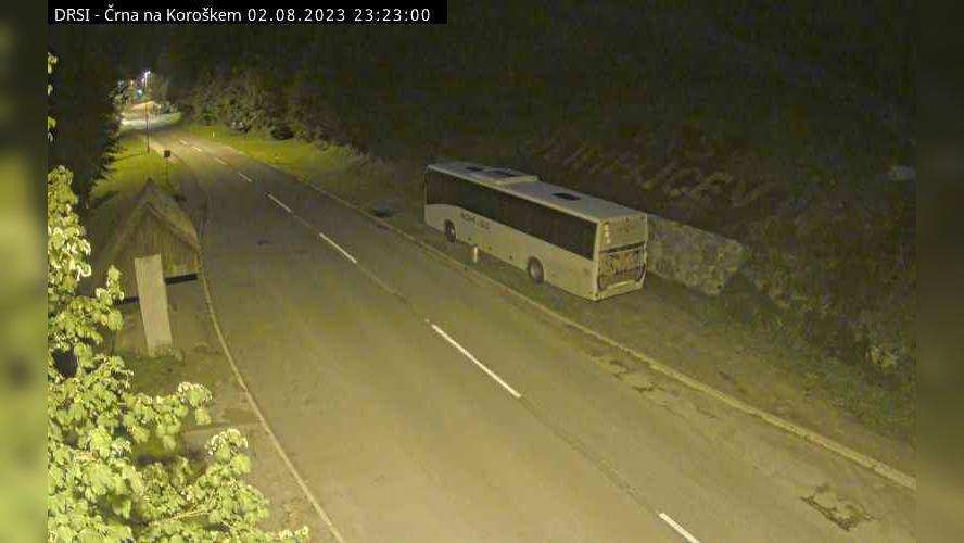 Webkamera Črna: R2-425, Poljana − Šentvid − na Koroškem