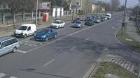 Debrecen: Attila t�r - Wessel�nyi Street - Dia