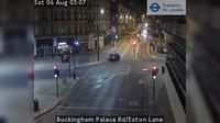 London: Buckingham Palace Rd/Eaton Lane - Aktuell