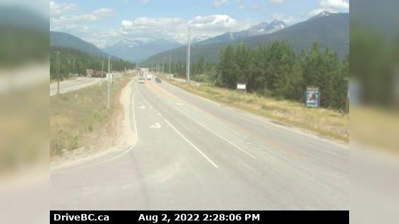 Webcam Blue River › North-East: Hwy 5 at Shell Rd., looki