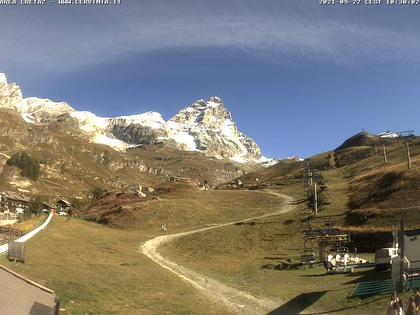 Breuil Cervinia: Valle d'Aosta, Italia: Cretaz