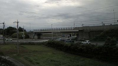 Daylight webcam view from Amakusa › East: 有明松島道路出入口