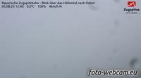 Grainau: Bayerische Zugspitzbahn - Blick �ber das H�llental nach Osten - El día
