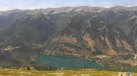Scanno: Monte Genzana - Vista sul lago di - e sull'Alta Valle del Sagittario - Dagtid