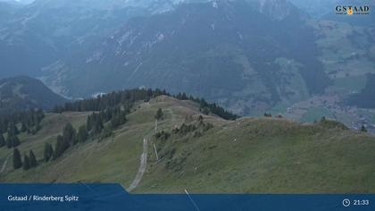 Zweisimmen: Gstaad - Rinderberg Spitz, Piste