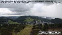 Stryck: Hochheideturm - Ettelsberg/Sauerland - Blick �ber Willingen Richtung Norden - Overdag