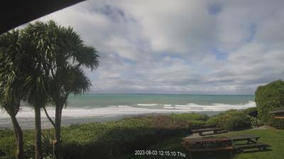Daylight webcam view from Hapuku: Kaikoura