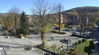 Webcam Ustrzyki Dolne: town center