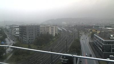 Daylight webcam view from Sudbrack: Blick vom Hochhaus der Bielefelder Stadtwerke