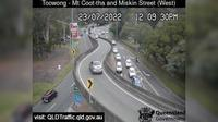 Brisbane City: Toowong - Mt Cootha and Miskin St (Looking West) - Dia