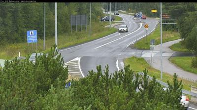 Vista de cámara web de luz diurna desde Oulu: Tie 816 Oulunsalo, Lentokentäntie − Hailuotoon