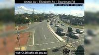 Kippa-Ring: Anzac Avenue - Elizabeth Avenue - Boardman Road (North-West) - Day time