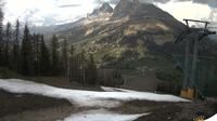Karersee - Carezza: Latemar - Pra di Tori Piste mit Blick auf die Rotwand - Dagtid