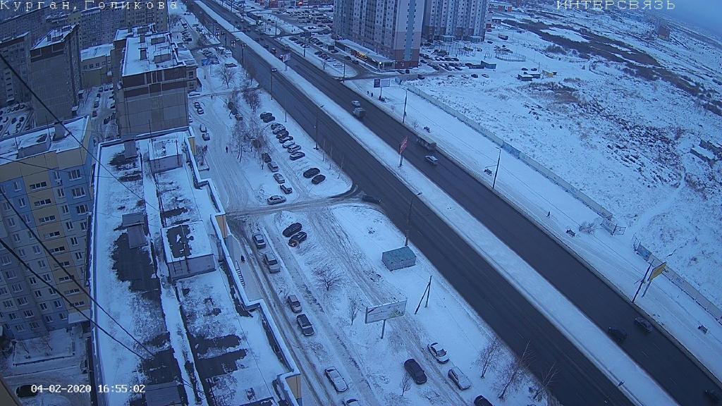 Webcam Северный: г. Курган, проспект Маршала Голикова