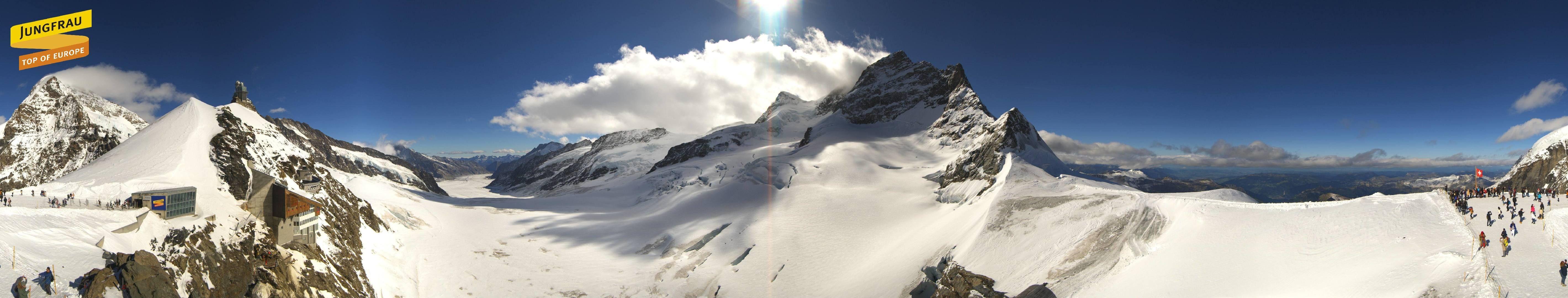 Fieschertal: Jungfraubahnen - Jungfraujoch
