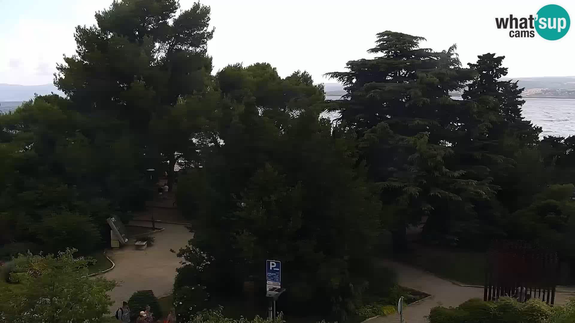 Webcam Crikvenica: main square