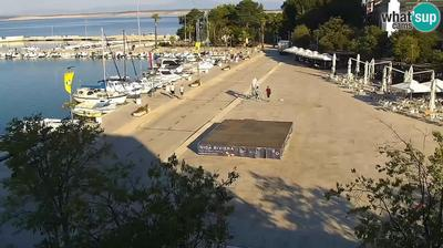 Crikvenica: the center and the waterfront, PTZ webcam