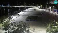 Crikvenica: the center and the waterfront, PTZ webcam - Recent