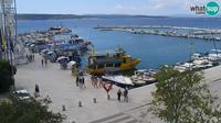 Crikvenica: the center and the waterfront, PTZ webcam - Overdag