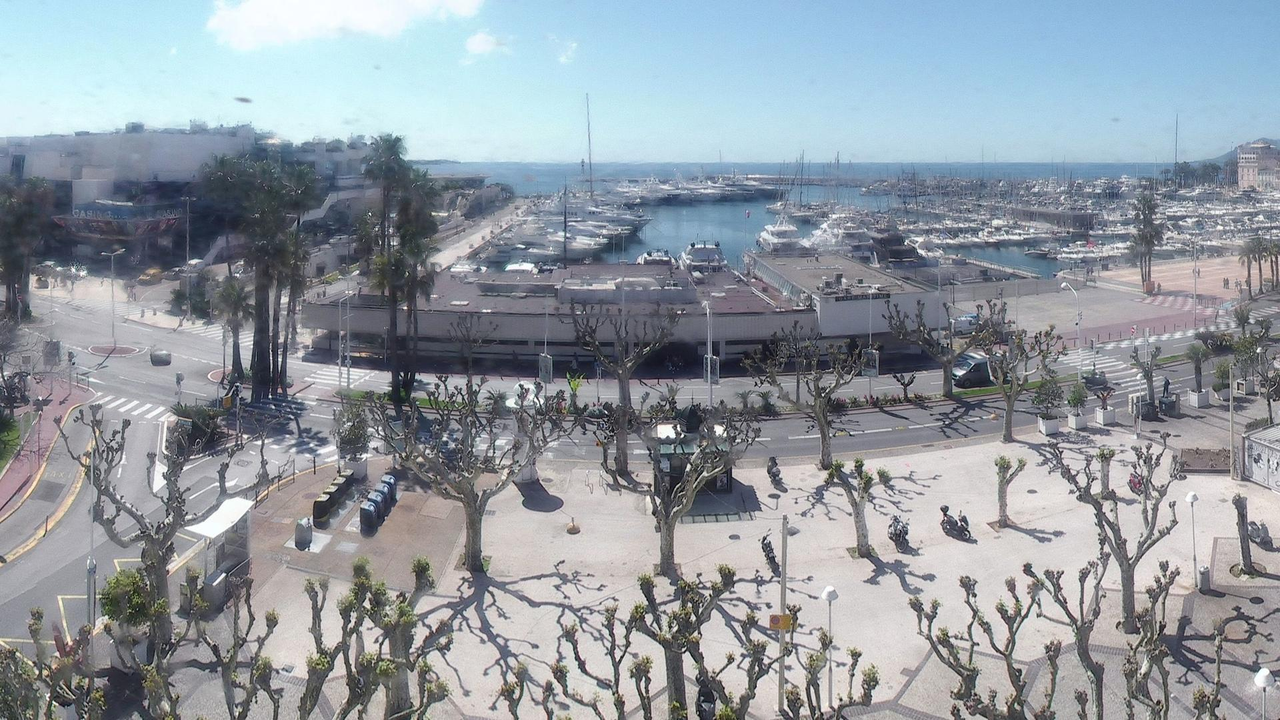 Webcam Cannes: Le Vieux Port