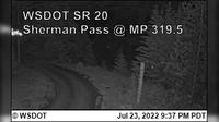 Republic › East: SR  at MP .: Sherman Pass - Recent