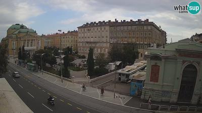Rijeka: view on HNK Ivan pl. Zajc, TOP TEN