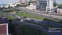 Vladivostok: Владивосток, Спуск с фуникулера - Current