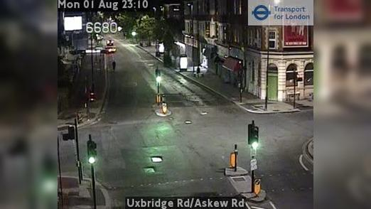 Webcam Acton: Uxbridge Rd/Askew Rd