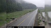 Stewart › North: Hwy a between - BC and Hyder, USA, looking north - Dagtid