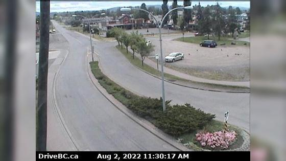 Webkamera Smithers › East: Hwy 16 in − at Main Street, looki